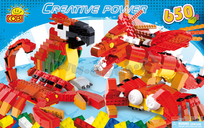 COBI - CREATIVE POWER DRAGON 650 OSAA