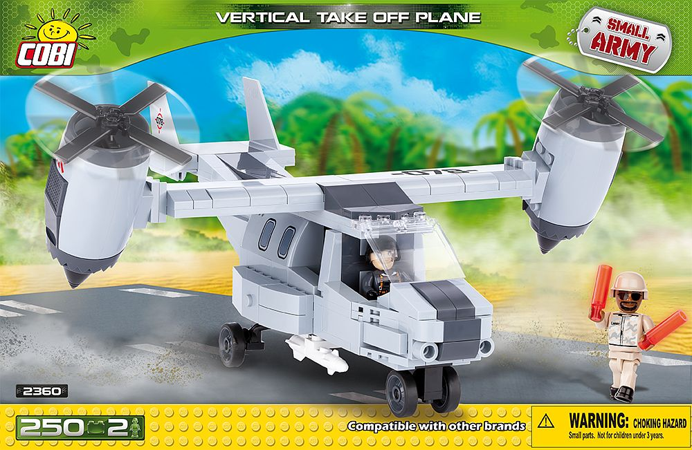 Vertical Take Off Plane - Cobi